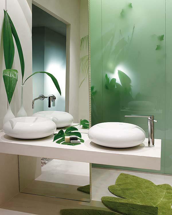 Decoraci n de cuarto de ba o inspirada en la naturaleza for Decoracion cuartos de bano