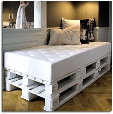 Muebles con palets bonitadecoraci for Muebles de palets precio