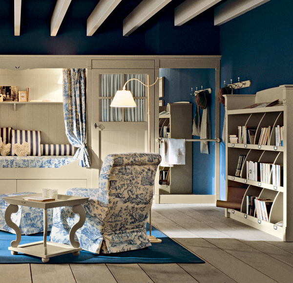 Maravilloso dormitorio infantil cl sico de estilo ingl s - Estilo ingles decoracion interiores ...